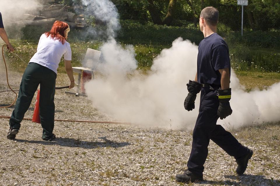 Brandschutzschulungen - Brandschutzunterweisungen