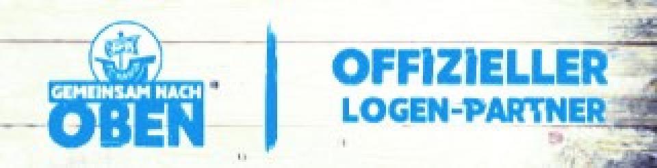 Sponsor-Sticker F.C. Hansa Rostock e.V. Offizieller Logen-Partner