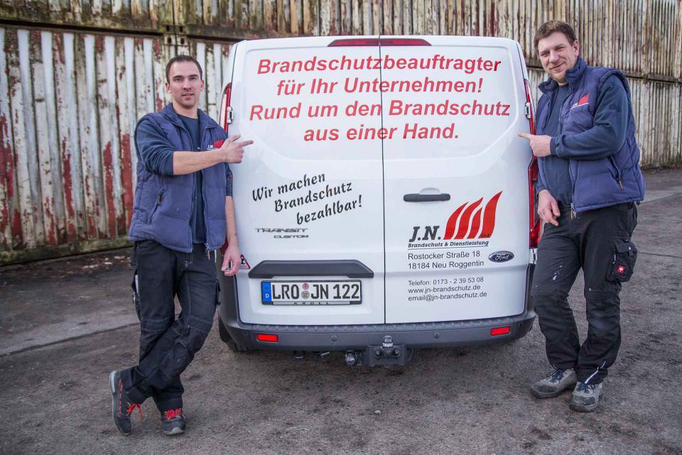 JN Branschutz - Unternehmen - Brandschutzbeauftragter